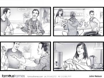 John Killian Nelson's People - B&W Tone storyboard art