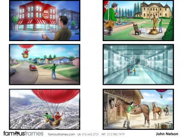 John Killian Nelson's Environments storyboard art
