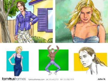 John Killian Nelson's Beauty / Fashion storyboard art