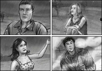 John Killian Nelson's Shootingboards storyboard art
