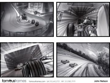 John Killian Nelson's Sports storyboard art