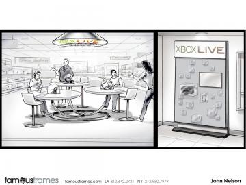 John Killian Nelson's Events / Displays storyboard art
