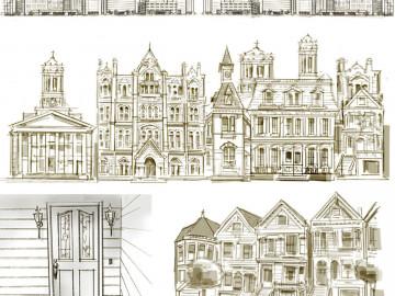 John Killian Nelson's Architectural storyboard art
