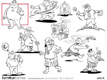 John Killian Nelson's Characters / Creatures storyboard art