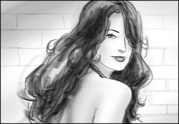 John Killian Nelson's Beauty / Fashion storyboard art