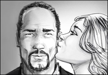 John Killian Nelson's Likenesses storyboard art