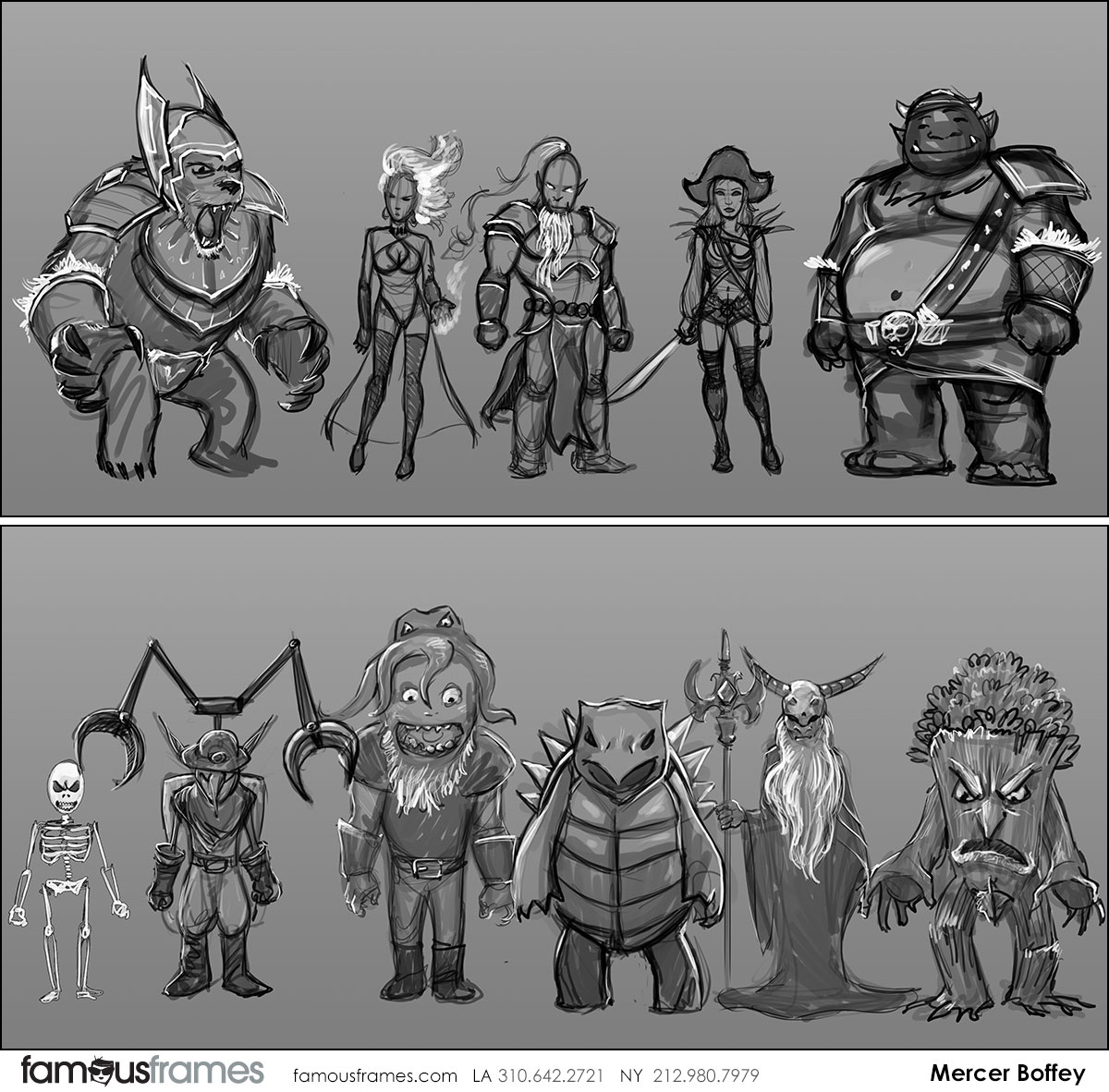 Mercer Boffey's Characters / Creatures storyboard art (Image #762_8_1574722004)