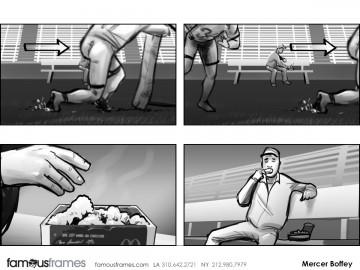 Mercer Boffey's Shootingboards storyboard art