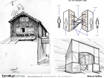 Mercer Boffey's Architectural storyboard art