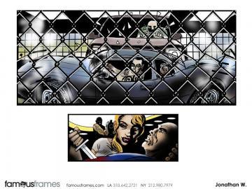 Jonathan Woods*'s Comic Book storyboard art