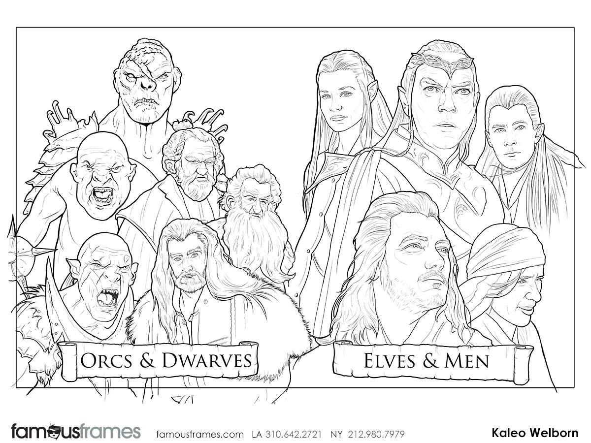 Kaleo Welborn's People - B&W Line storyboard art (Image #79_114_1426187379)
