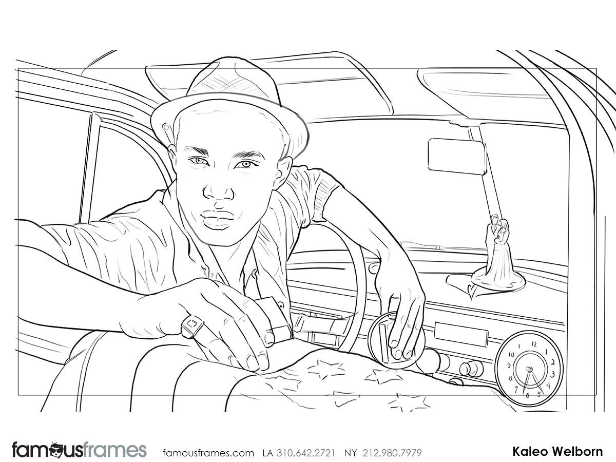 Kaleo Welborn's People - B&W Line storyboard art (Image #79_114_1441322591)