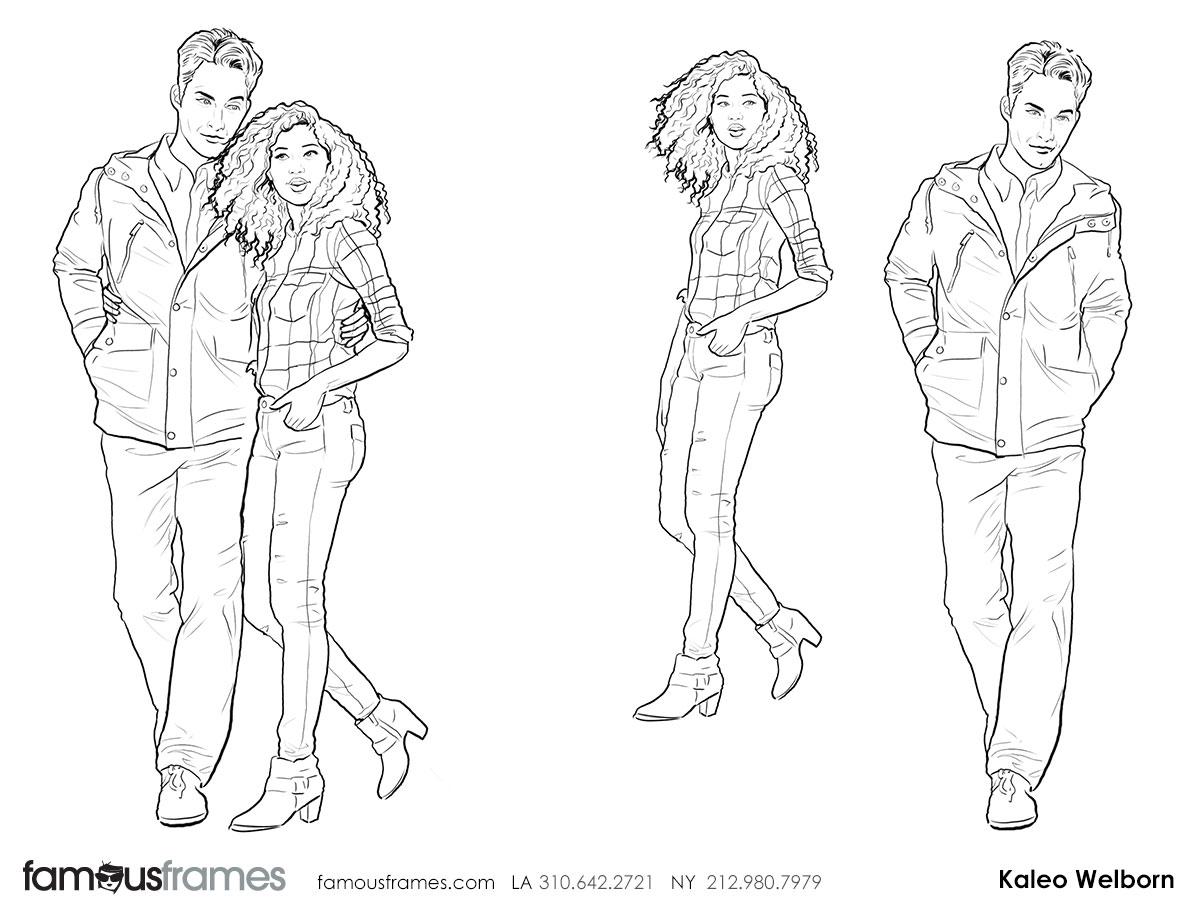 Kaleo Welborn's People - B&W Line storyboard art (Image #79_114_1441322609)