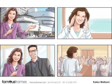Kaleo Welborn's People - Color  storyboard art