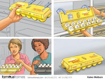 Kaleo Welborn's Products storyboard art