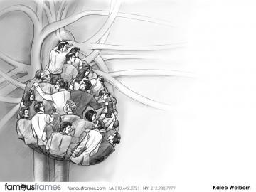 Kaleo Welborn's Pharma / Medical storyboard art