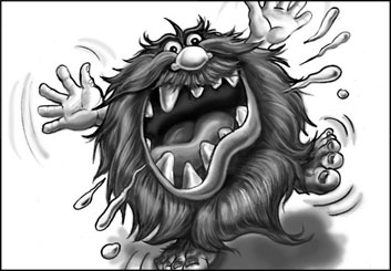 Kaleo Welborn's Characters / Creatures storyboard art