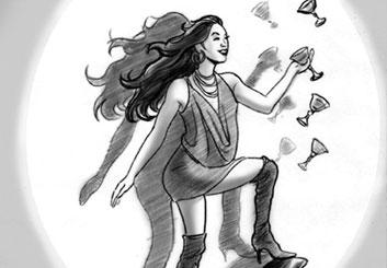 Kaleo Welborn's People - B&W Tone storyboard art