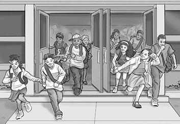 Kaleo Welborn's Kids storyboard art