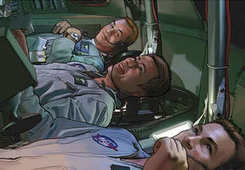 Kaleo Welborn's People - Color  storyboard art