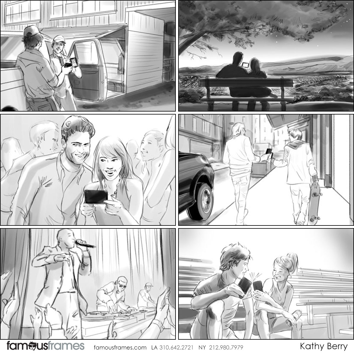 Kathy Berry's People - B&W Tone storyboard art (Image #82_113_1384908801)