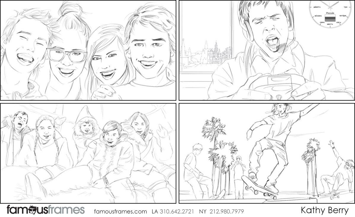 Kathy Berry's People - B&W Line storyboard art (Image #82_114_1405365996)