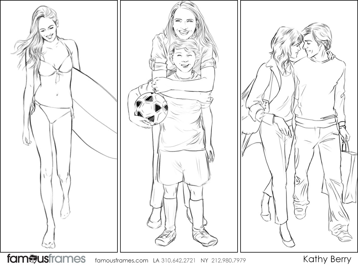 Kathy Berry's People - B&W Line storyboard art (Image #82_114_1538172206)