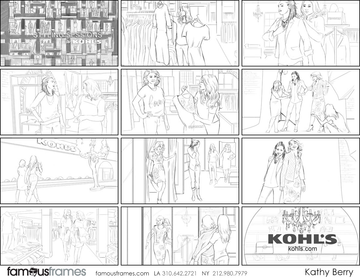Kathy Berry's People - B&W Line storyboard art (Image #82_22_1431733007)