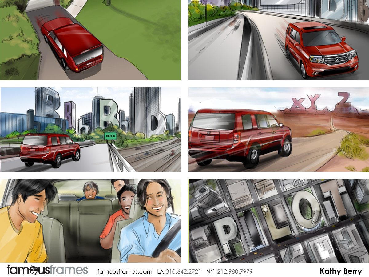 Kathy Berry's Vehicles storyboard art (Image #82_24_1347579644)