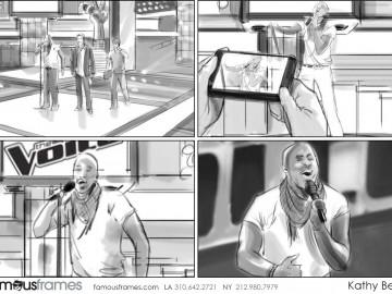 Kathy Berry's People - B&W Tone storyboard art