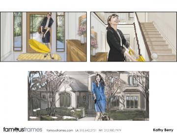 Kathy Berry's Environments storyboard art