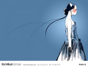 Kathy Berry's Beauty / Fashion storyboard art