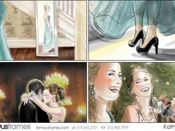 Kathy Berry's People - Color  storyboard art
