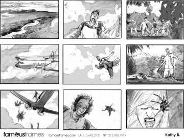 Kathy Berry's Shootingboards storyboard art