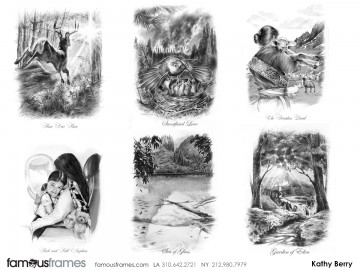Kathy Berry's Illustration storyboard art