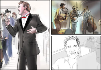Kathy Berry's Likenesses storyboard art