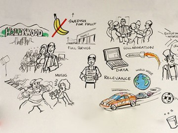 Mark Millicent's Whiteboard storyboard art