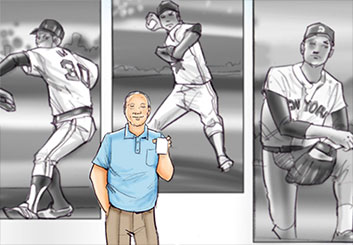 Mark Millicent's Sports storyboard art