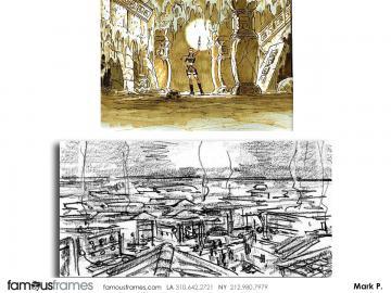 Mark Pacella*'s Environments storyboard art