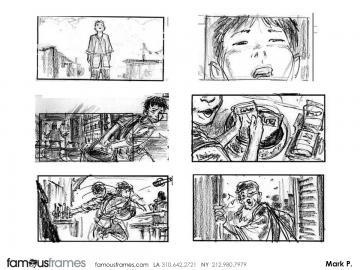 Mark Pacella*'s Kids storyboard art