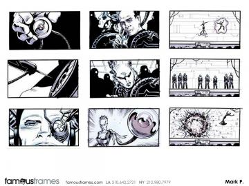 Mark Pacella*'s Sci-Fi storyboard art