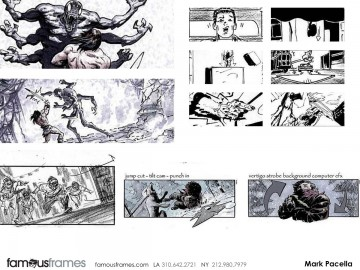 Mark Pacella*'s Action storyboard art
