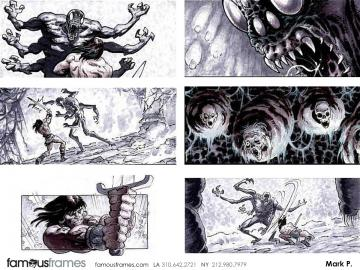 Mark Pacella*'s Characters / Creatures storyboard art
