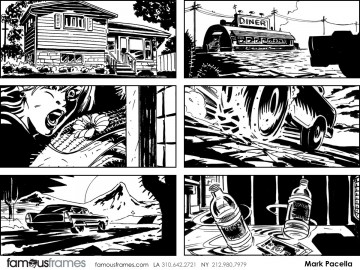 Mark Pacella*'s Comic Book storyboard art