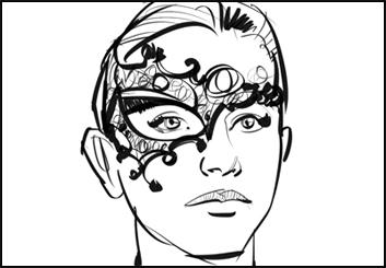 Mark Millicent's Beauty / Fashion storyboard art