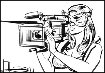 Mark Millicent's Shootingboards storyboard art