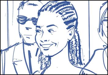 Mark Millicent's Film/TV storyboard art