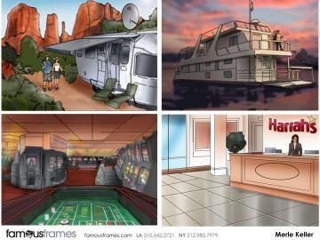 Merle Keller's Environments storyboard art