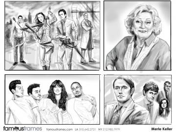 Merle Keller's Likenesses storyboard art
