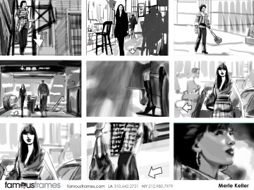 Merle Keller's Shootingboards storyboard art